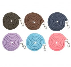 1395 Brussels Lead rope with Clip - ALL COLOURS