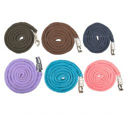 1396 HKM Brussels Lead Rope with Panic Clip - ALL COLOURS