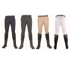 2927 Mens Vera Classic Breeches with Alos Kneepatch.