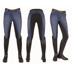 3078 HKM Ladies Comfort Breathable Denim Breeches