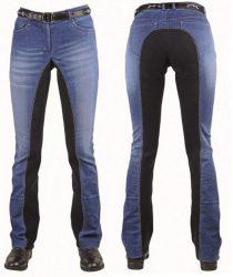 3087 HKM Ladies Summer Denim Jodhpurs / Riding Trousers