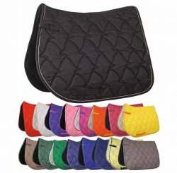 3438 HKM Cassandra Easy Care Quilted Saddle Cloth