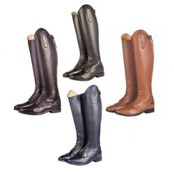 3994 HKM Valencia Leather Long Horse Riding Boots