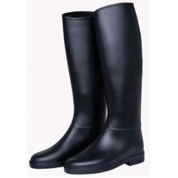 4500 HKM Childrens Synthetic Rubber Long Horse Riding boots