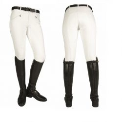 4616 HKM Softshell Breeches White