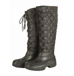 5285 Kodiak Fashion Long Thermo Yard Mucker Boots Black