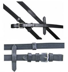 6199 HKM Quality Leather Web Reins