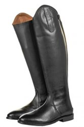 6548 Italy Long Leather Riding Boots