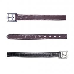 7422 HKM Reinforced Leather Anti Stretch Padded Stirrup Leathers
