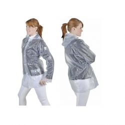 8242 Waterproof Transparent Rain Jacket
