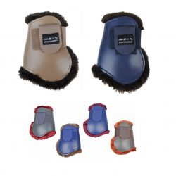 8771 THKM Teddy Faux Fur Lined Fetlock Boots for Hind Legs
