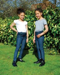 Rhinegold Children's Stretch Denim Jodhpurs