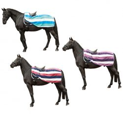 4708 HKM Fashion Stripes Continental Fleece Exercise Sheet Rug