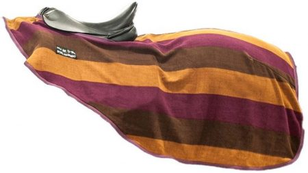 7092 7092 HKM Stripes Continental Fleece Exercise Sheet Rug