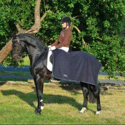 7921 HKM Fleece Exercise Rug Sheet Blue