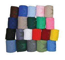 5261 HKM Polar Fleece Bandages - Velcro Fastening - 4 Piece