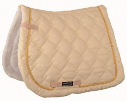 7171 CHAMPAGNE/GOLD in COB/FULL on CLEARANCE | HKM Gently All Purpose Saddle Cloth