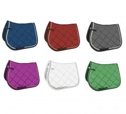 8725 HKM Quilted Functional Saddle Cloth with Comfort Thick Padding