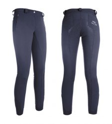 7960 HKM Siberia Insulating Softshell Breeches with Full Silicone Seat