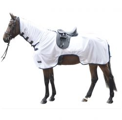 HKM Ride On Exercise Fly Rug with Combo Neck