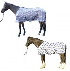 8404 HKM Star Print Superior Knitted Fly Rug
