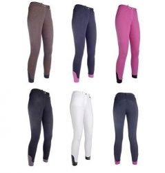 10539 HKM Ladies Value Breeches - Silicone Grip Knee