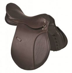 5584 HKM Premium Leather Jumping Saddle- 3 Seat Sizes