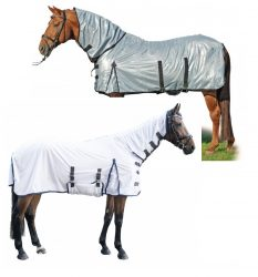 7076 HKM Lyon Protection Fly Rug with Fixed Full Neck Cover