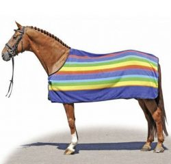 1358 HKM Rainbow Fleece Cooler Rug