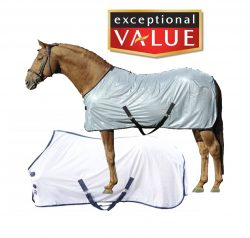 7075 HKM Lyon Summer Horse Protection Sheet / Fly Rug ON CLEARANCE