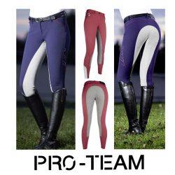 9169 HKM Ladies Pro Team Performance Sport Full Seat Breeches