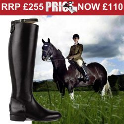 Caldene Pendle Long Leather Riding Boots