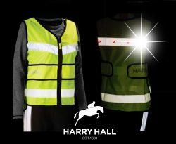 Harry Hall Hi Viz Adjustable LED Lights Tabard