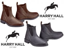 Harry Hall Unisex Recife Leather Jodhpur Boots