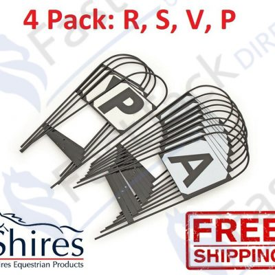 Shires Steel Hoop Dressage Markers (4 rsvp)