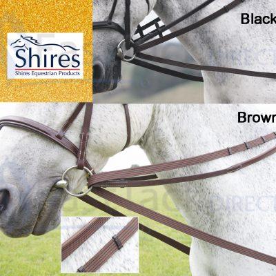Shires Cotton Web Draw/running Reins