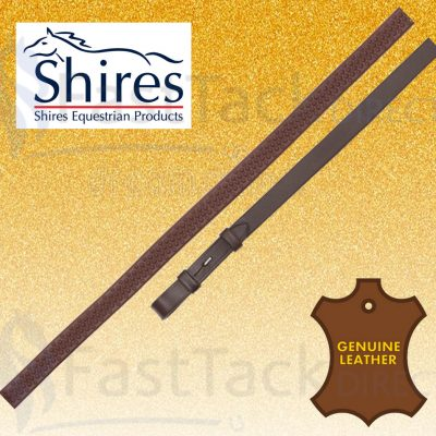 """Shires Aviemore Soft Rubber Grip Reins 61"""""""