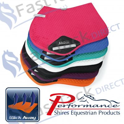 Shires Performance Suede Jumping Saddlecloth