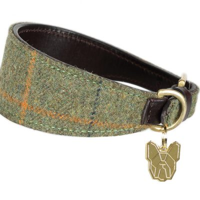 Shires Digby & Fox Tweed Greyhound Collar