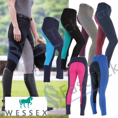 Shires Ladies Wessex Two Tone Jodhpurs