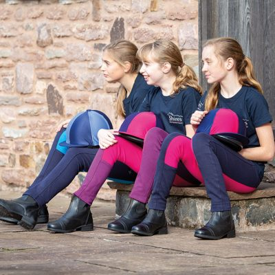 Shires Maids Girls Wessex Two Tone Jodhpurs