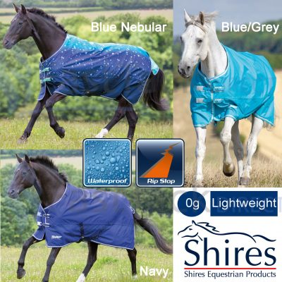 Shires Tempest Original Lite No Fill No Neck Turnout Rug