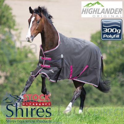Shires Clearance Sale Highlander 300g Heavyweight Turnout Rug