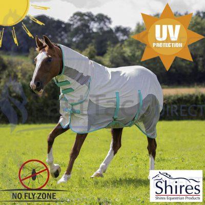 Shires Tempest Mesh Summer Shield UV Fly Bug Rug