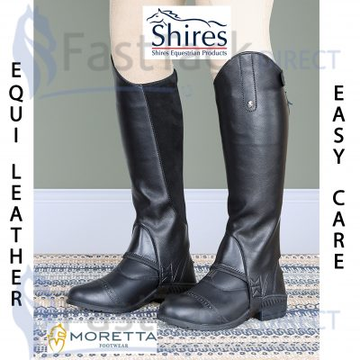 Shires Adult Moretta Synthetic Gaiters