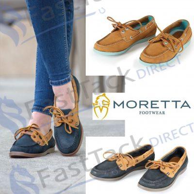 Shires Moretta Avisa Nubuck Leather Deck Shoes