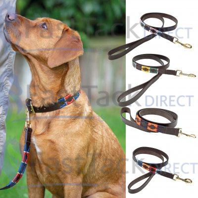 Shires Digby & Fox Drover Polo Leather Dog Lead