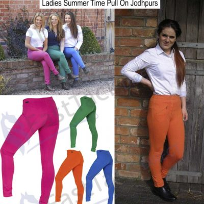 Gallop Summer Lightweight Pull On Jodhpurs