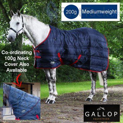 Gallop Defender 200g Medium Weight No Neck Stable Rug
