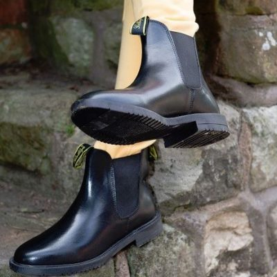 Classic Real Leather Jodhpur Boots